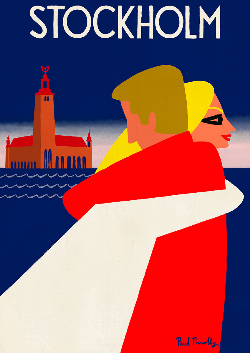travel posters paul thurlby