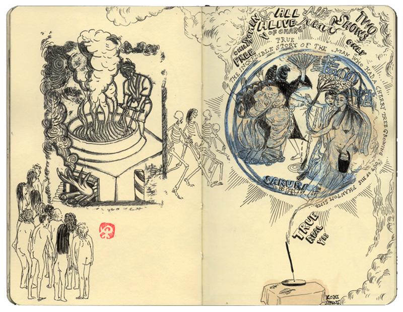 Sketchbooks Andreadezso Com
