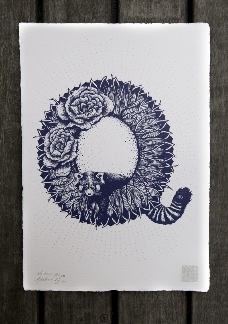 Alfabeto inspirado en la naturaleza - Q